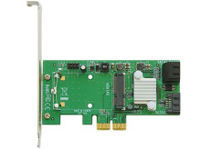 mSATA付きのSATA増設カードが玄人志向から! mSATA用変換基板やシリアル増設カードなど4製品発売に