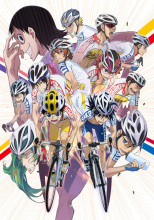 自転車競技アニメ「弱虫ペダル」、インターハイ編のビジュアルを公開! 坂道と山岳を先頭に総勢13名