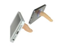 本物そっくりな指型モバイルスタンド「DN-10939」が上海問屋から!