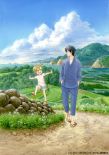 島流し書道家と島民の交流アニメ「ばらかもん」、スタッフを発表! 日本アニメ美術の巨匠・山本二三によるキービジュアルも