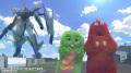 TVアニメ「バディ・コンプレックス」、ガチャピンがロボット「ヴァリアンサー」の操縦にチャレンジ! コラボ動画を公開