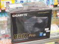 GIGABYTEの超小型PC「BRIX Pro」のブラックバージョンが登場! 並行輸入品