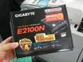 4k出力対応のファンレス仕様のMini-ITXマザー! GIGABYTE「GA-E2100N」発売
