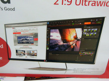 3440×1440の高解像度大画面のシネスコモニタ! LG「34UM95-P」発売