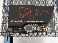 24bit/192kHz対応のPCIe接続サウンドカード「SC808」がaimから!