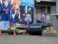 ガルパン、水戸VS熊本の西住ダービーは引き分け! 相手サポーターもコラボグッズ購入に訪れるなどイベントは大成功