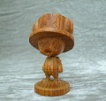 ワンピース、「チョッパー」の木彫りフィギュア第2弾が登場! 今回は紅木/花梨/桧の3種を用意