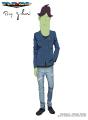 TVアニメ「スペース☆ダンディ」、ファッションサイト「ZOZOTOWN」「WEAR」とコラボ! ダンディたちがモデルに