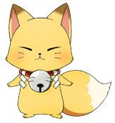 TVアニメ「繰繰れ!コックリさん」、小野大輔が演じる「コックリさん」の新ビジュアルを公開! モフモフなキツネ姿も