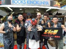 「北斗の拳」、ザコキャラ集団が新宿に登場! ジャギ様コスプレでの撮影会など大盛況
