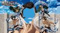 「シック×進撃の巨人」コラボキャンペーン開始! ミカサ/リヴァイのフィギュア付き数量限定商品や特別映像「爽快の巨人」を用意