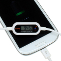 充電中の電流をリアルタイムに測定できるディスプレイ付きMicroUSBケーブル「DN-10892」が上海問屋から!