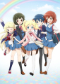 きんモザ、TVアニメ第2期は「ハロー!! きんいろモザイク」として放送! キービジュアルも公開
