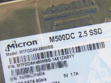 Micronの高耐久SSD「M500DC」が登場! 実売6万円の480GBモデルが発売