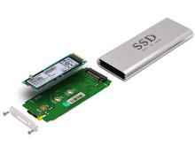 SAMSUNGの高速SSD「XP941」専用のUSB3.0接続外付けケース「U3M2M-S」が発売に!