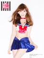 セーラームーン×PEACH JOHNコラボ下着、第2弾ではAKB48・小嶋陽菜が着用姿を披露! ブラセットはスカート付きで全10種
