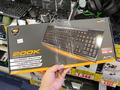 7色のバックライトLED搭載の薄型ゲーミングキーボード! 「COUGAR 200K gaming keyboard」発売