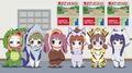 アイドルアニメ「Wake Up, Girls!」のスピンオフ短編「うぇいくあっぷがーるZOO!」の配信日が決定!