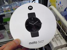 ラウンドシェイプのスマートウォッチ「Moto 360」がMotorolaから!