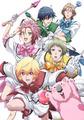 オリジナルTVアニメ「美男高校地球防衛部LOVE!」、新キービジュアル公開! 5人の変身後コスチューム姿