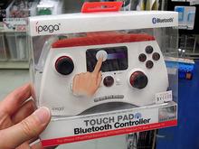 タッチパッド付きスマホ用ゲームコントローラー「PG-9028」がIPEGAから!
