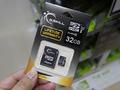 G.SKILLのU3対応MicroSDHCカード「FF-TSDHC32GA-U3」が発売!