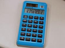 【アキバこぼれ話】HPのロゴ入りソーラー電卓「EasyCalc 100」が特価販売中