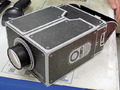 スマホがプロジェクターになるボール紙製組み立てキット「DN-12931」が上海問屋から!