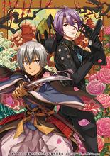 OVA「翠星のガルガンティア」、刀剣擬人化ゲーム「刀剣乱舞」とのコラボイラストを公開! レドと歌仙兼定が衣装交換