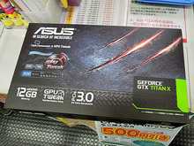 GeForce GTX TITAN X搭載ビデオカード「GTXTITANX-12GD5」がASUSから!
