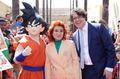 ドラゴンボールZ 復活の「F」、悟空が青髪の神戦士となる新映像を解禁! ハリウッドでの世界最速上映イベントにはファン/マスコミが殺到