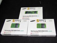 3D V-NAND採用SSD「850 EVO」シリーズにM.2/mSATA が登場!