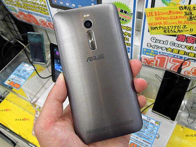>ASUS製スマホ「ZenFone 2」の4GBメモリ搭載モデルが登場!