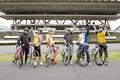 自転車競技アニメ「弱虫ペダル」、声優6名によるロードバイク対決の模様をTV放送! 2チームにわかれてガチバトル