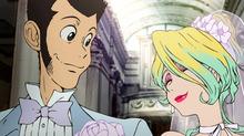 秋アニメ「ルパン三世」、第1話でルパンと結婚(!?)する新キャラ・レベッカを発表! モデルや女優としても活躍する女社長