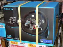 実車さながらの臨場感が味わえるステアリングコントローラ「G29」シリーズがロジクールから!