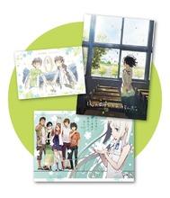 アニメ映画「心が叫びたがってるんだ。」、「あの花」コラボのポートレート付き、第2弾特別鑑賞券が7月11日より発売決定!