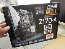 LGA1151対応の「Z170」搭載マザーボード「Z170-A」がASUSから!