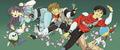 「赤い光弾ジリオン」、BD-BOX用の描き下ろしイラストを公開! 後藤隆幸・浜崎博嗣・黄瀬和哉が担当