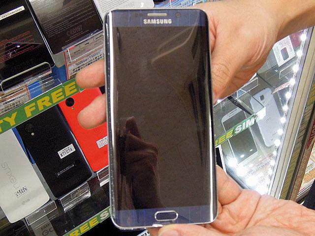 5.7インチ曲面ディスプレイ搭載スマホ「Galaxy S6 edge+」が登場!