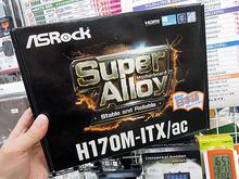 H170/B150搭載Mini-ITX/Micro-ATXマザーボード3モデルがASRockから!