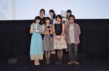 劇場アニメ「ARIA The AVVENIRE」、初日舞台挨拶で8年ぶりにキャストが勢揃い! 「スタジオに入った時点で泣いてしまいました」