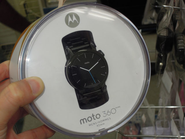 Motorola製スマートウォッチ「Moto 360」の第2世代モデルが登場!