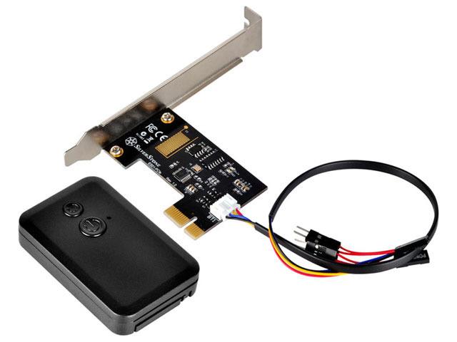 PCの電源をON/OFできるリモコン「SST-ES01-PCIe」SilverStoneから!