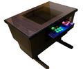 ダンボール製のゲーム筐体型テーブル組み立てキット! 「げーむぼっち」、11月下旬に10万円で発売