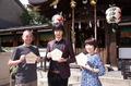 秋アニメ「牙狼 -紅蓮ノ月-」、京都イベントのレポートが到着! 京まふでのステージと晴明神社での祈祷式