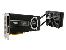 Corsair製水冷ユニット搭載のGeForce GTX 980 Tiビデオカード「GTX 980Ti SEA HAWK」がMSIから!