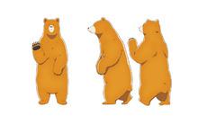 中学生巫女とヒグマの交流アニメ「くまみこ」、秋葉原でクマの手形チラシ配布会を実施! クマ井ナツがアキバに出没