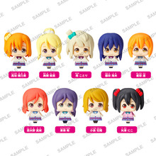 「くるころ ラブライブ! Vol.2」、2016年2月に発売! 夏服仕様のミニフィギュア全9種