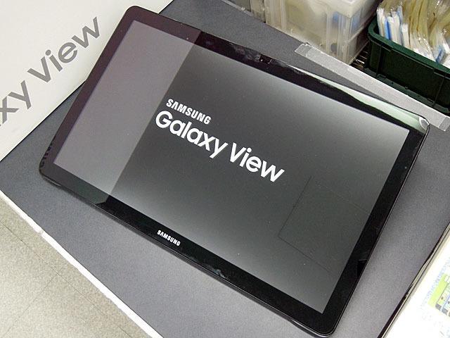 18.4インチ液晶搭載の巨大タブレット「Galaxy View」がSAMSUNGから!